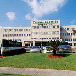 Tulane Lakeside Hospital Metairie hospital and ER